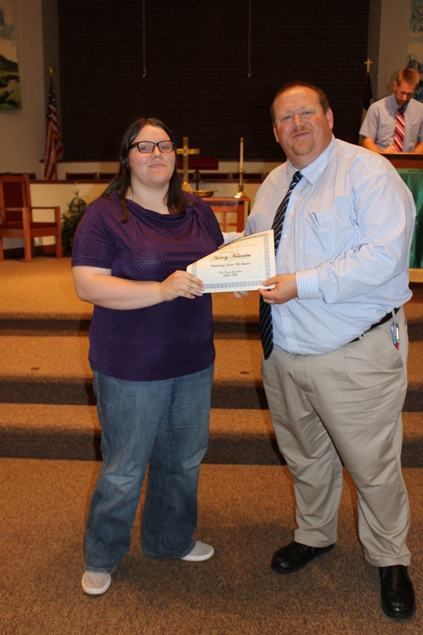 2016 Underclassman Awards held at First United Methodist Church