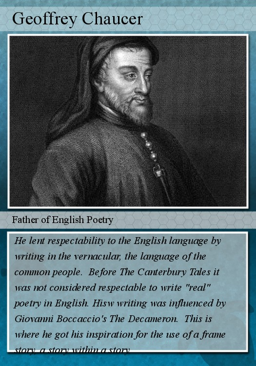 The canterbury tales essay assignment