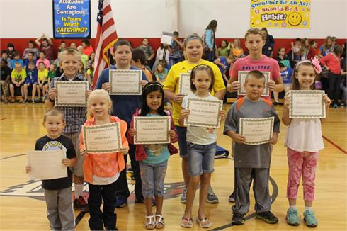 September Leaders of the Month